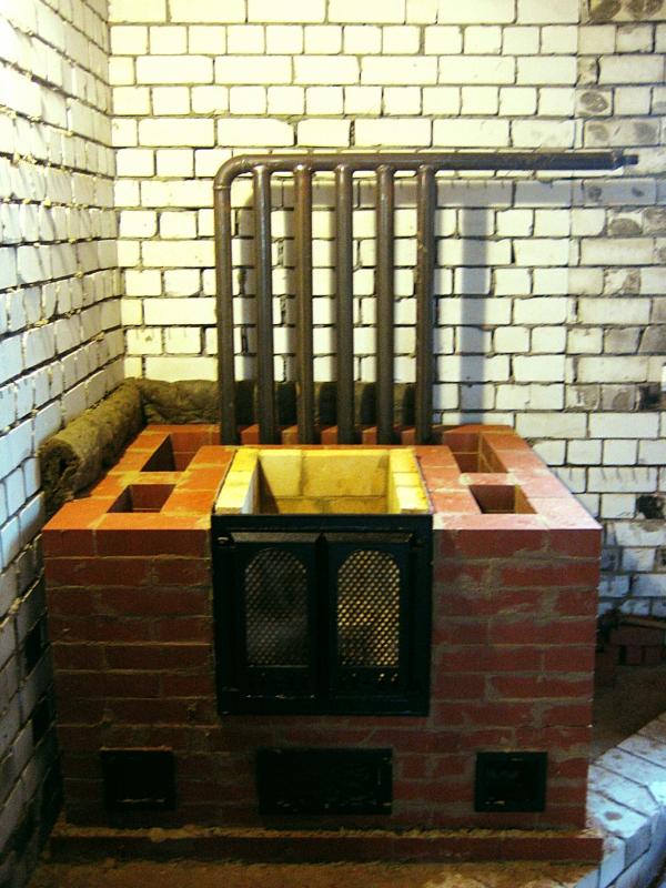 Печь для водяного отопления дома на дровах своими руками