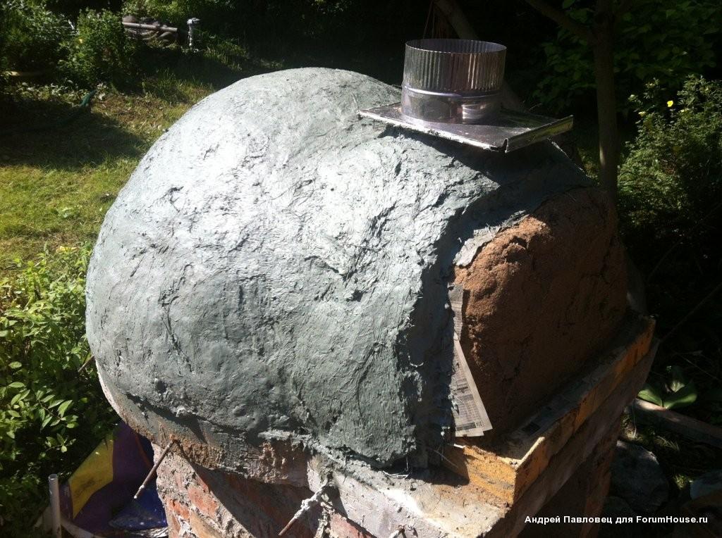 Помпейские печи из глины своими руками 750