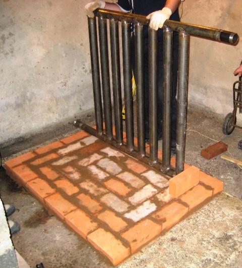 Самодельный теплообменник для камина теплообменник ажкж 0 07