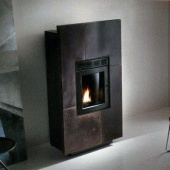 Печь Palazzetti Ductable Ecofire Diamante in Corten