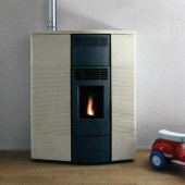 Печь Palazzetti Ductable Ecofire Slimmy in Hot Stone
