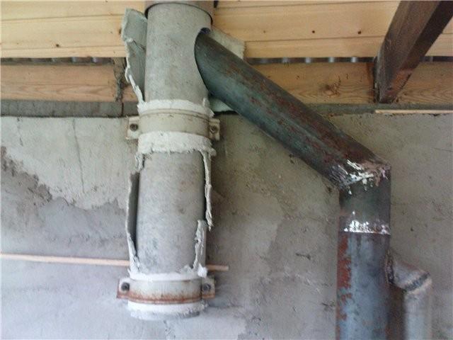 Асбестовые трубы на дымоходе дымоход настенного котла данко