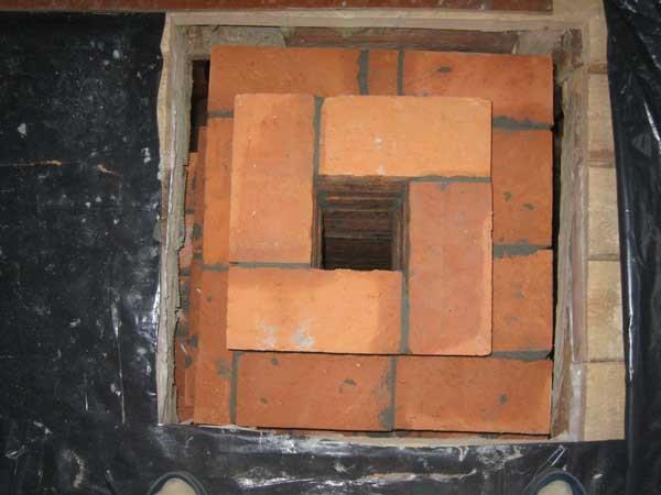 Монтаж дымохода с деревянным каркасом