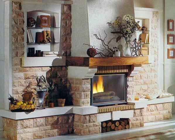 Каминные облицовки - купить или сделать самому - Камины и печи