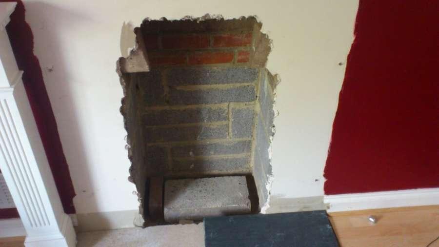 Оштукатуривание поверхности может производиться даже после многолетней службы и работы вашего кирпичного камина