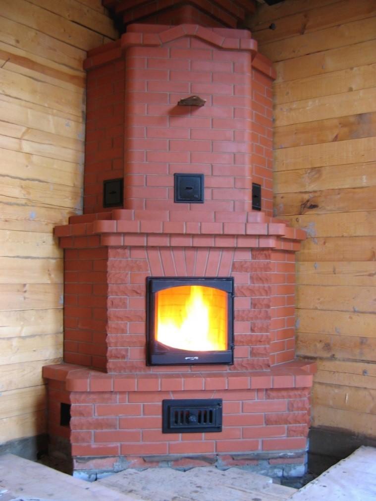 Угловые и пристенные приборы можно устанавливать даже в деревянных домах