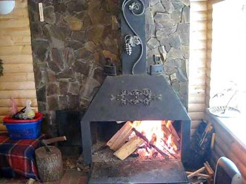 Как сделать дровяной камин своими руками