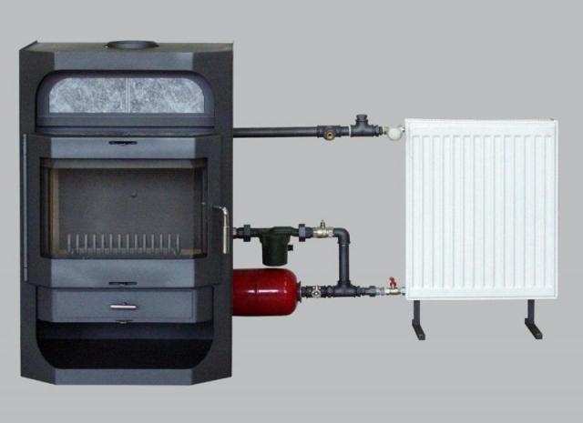 Самые простые модели не комплектуются насосом и дополнительными датчиками контроля температур