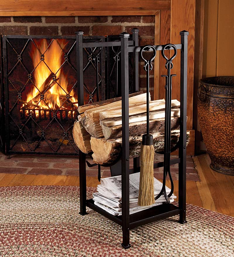 fireplace firewood rack - 700×770