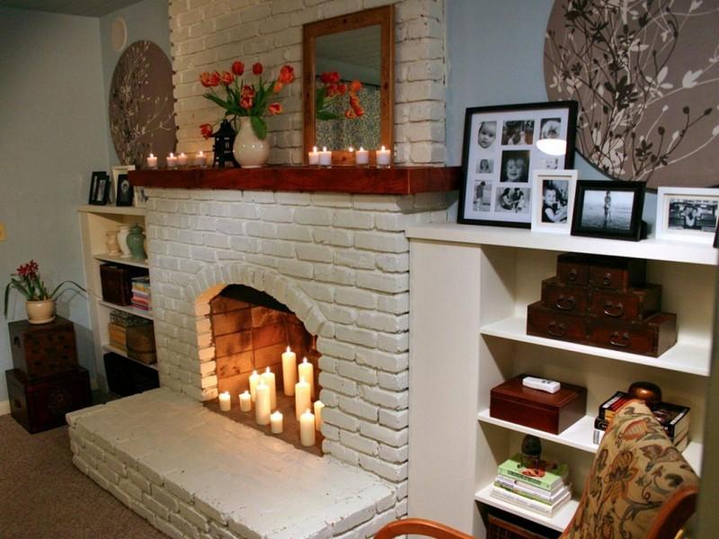 Декоративные камины в квартире дизайн