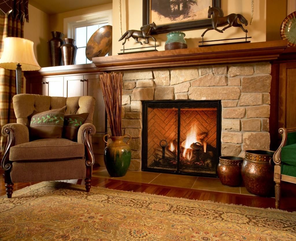 46 Best Living room images in 2019  Fireplace design