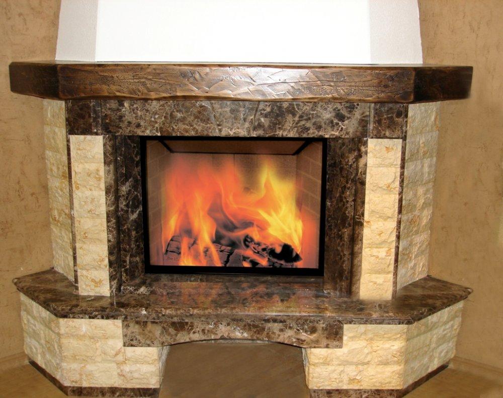 Выбор облицовки для камина как сделать дымоход для печи камина