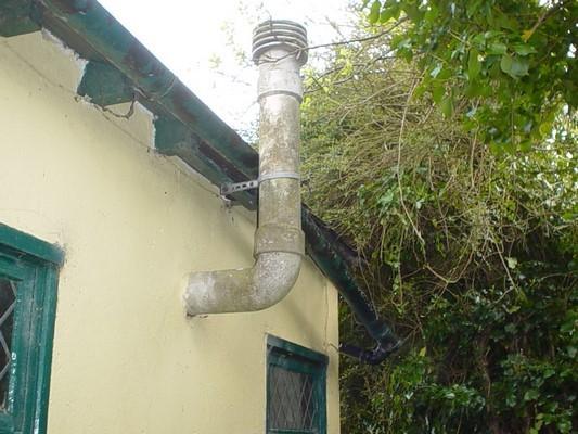 Дымоход для котла из асбестовых труб своими руками строим открытая топка камина