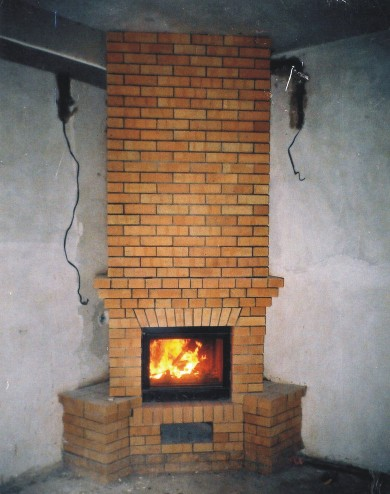 монтаж дымохода в частном доме фото